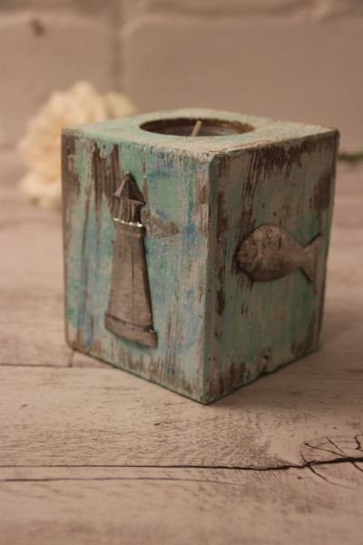 Teelichthalter Vintage Maritim