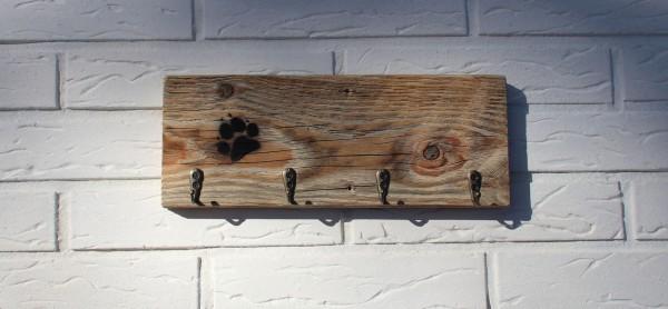 Schlüsselbrett Vintage-Altholz