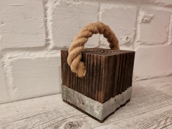 Türstopper Wood aRT© Vintage Industrial