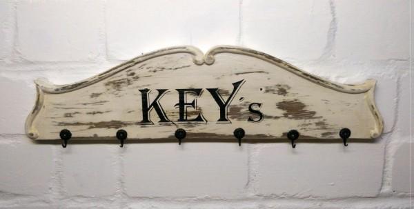 Schlüsselbrett Vintage