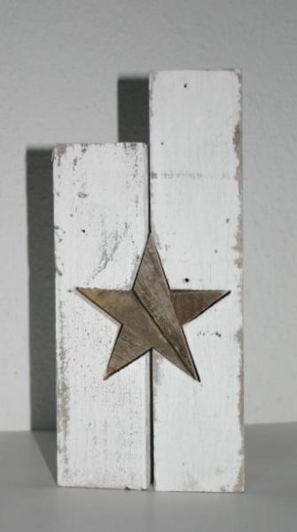 Teelichthalter Vintage Star